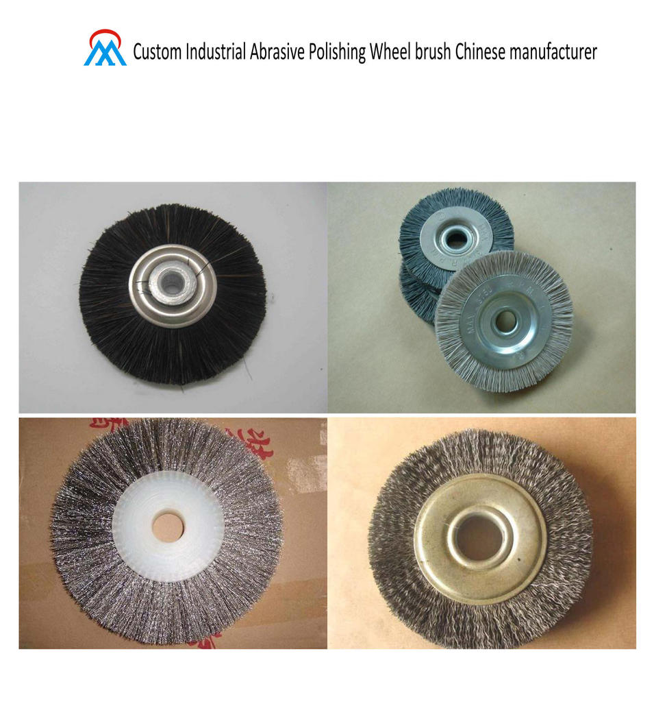 Custom Industrial Abrasive Polishing Wheel brush Chinese manufacturer