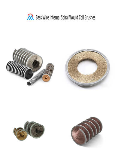 Bass Wire Internal Spiral Would Coil Brushes