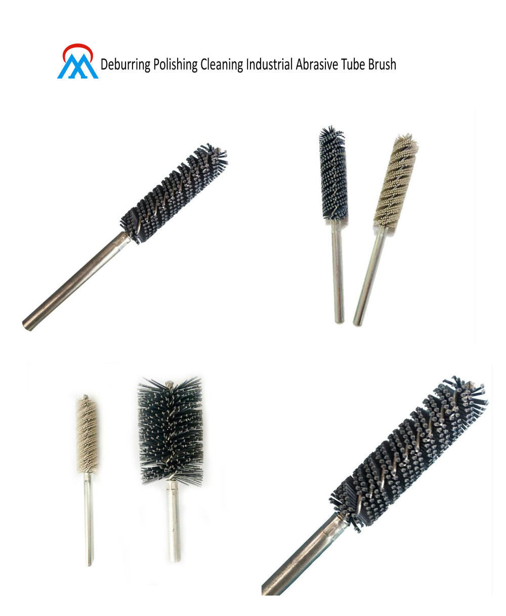 Deburring Polishing Cleaning Industrial Abrasive Tube Brush