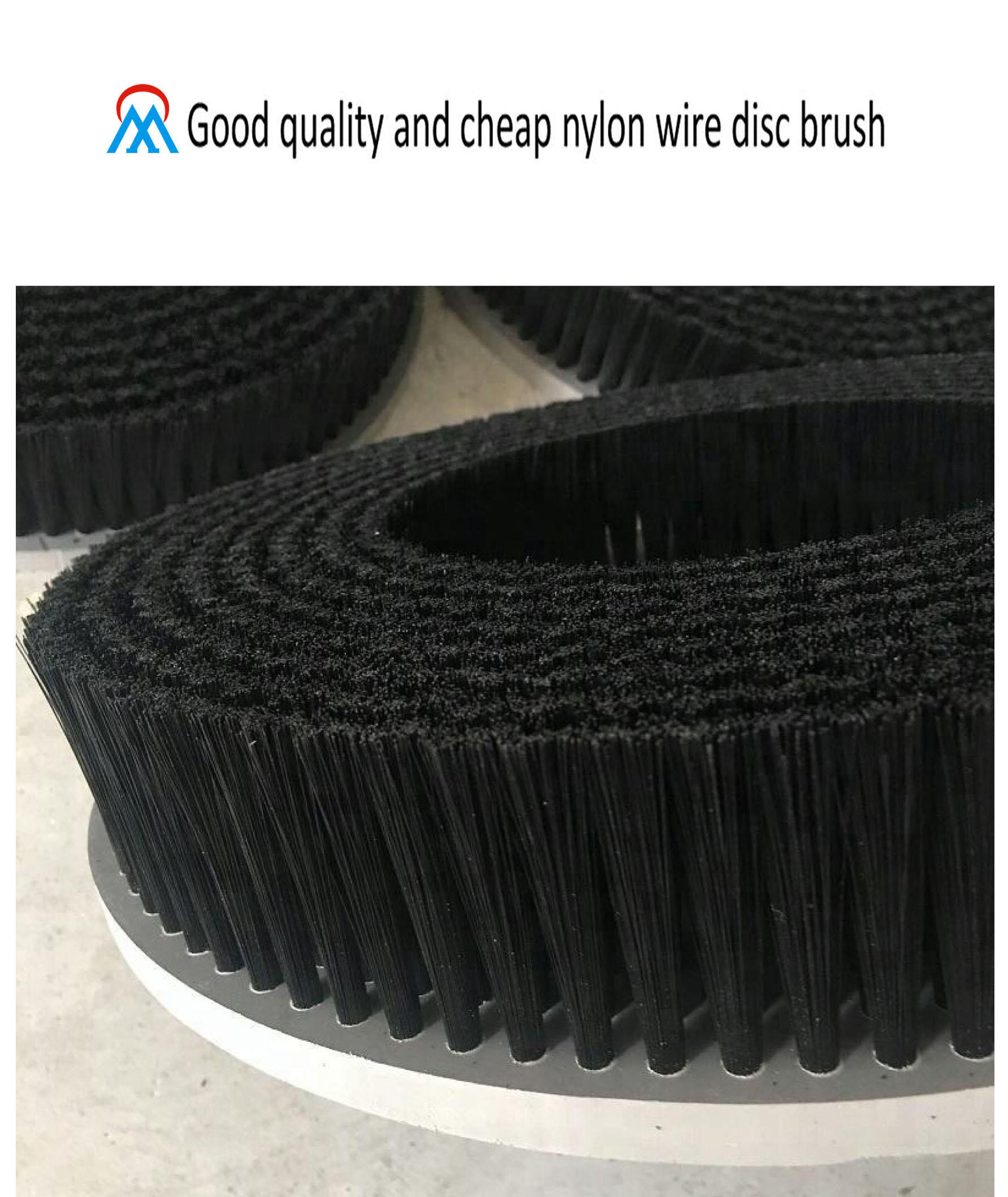 Good quality and cheap nylon wire disc brush