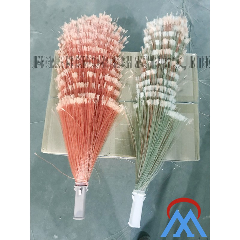 Meixin-Brush Manufacturing Machine Manufacture | India Phool Jhadu Broom Making
