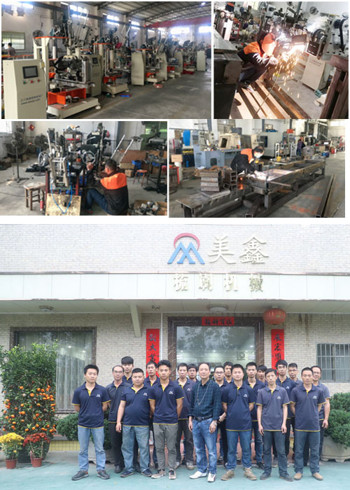 Meixin-Best Grinder Brush Wheel Polishing Brush Machine Manufacture-9