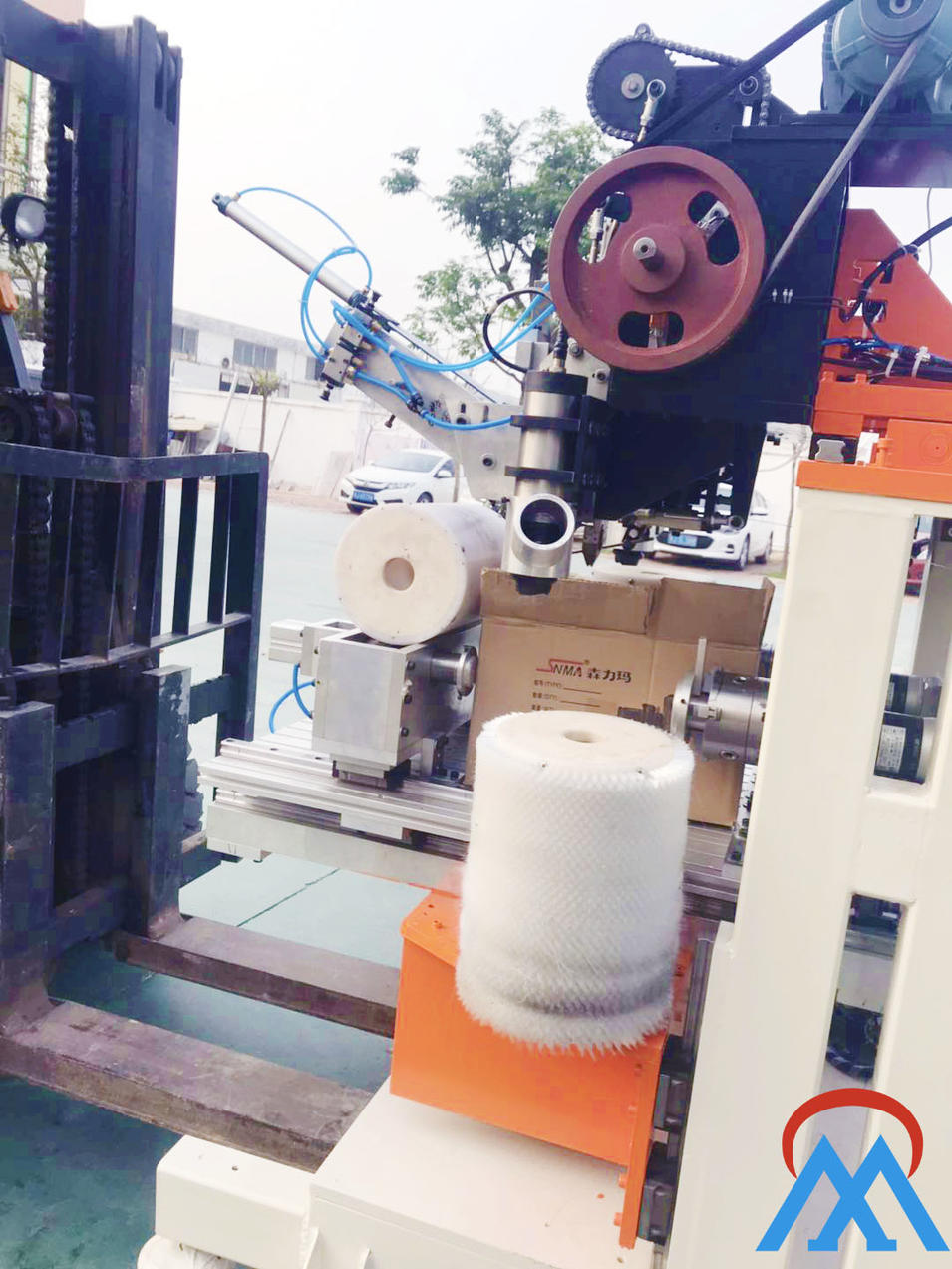 Large Roller Brush Machine
