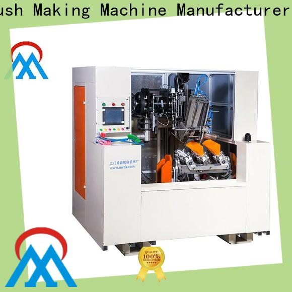 Meixin top quality 5 axis 2 drilling and tufting besom making machine oem for commercial