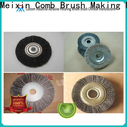 Meixin wheel cleaning brush drill series for commercial
