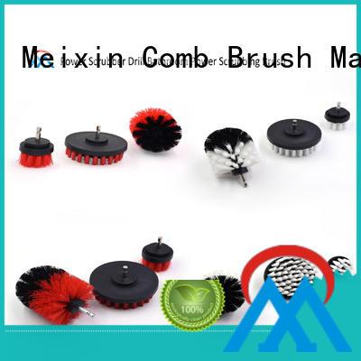 Meixin quality nylon wheel brush customized for factory