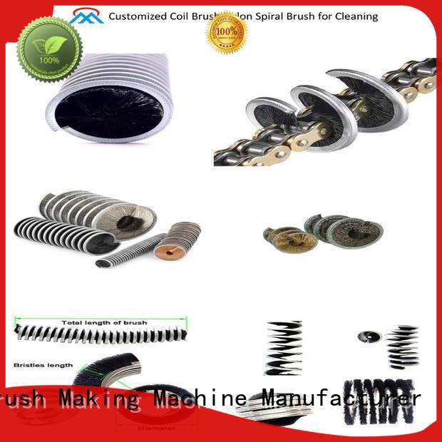 Customized Coil Brush Nylon Spiral Brush for Cleaning