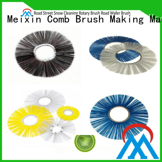 Meixin quality best wheel brush customized for industry
