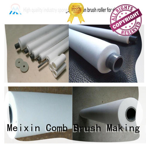High quality industry sponge PVA clean brush roller for glass industry